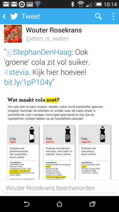 infographic cola
